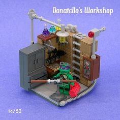 LEGO Vignette Teenage Mutant Ninja Turtle Donatello