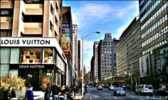 Love shopping or window shopping? Then head to Bloor Street in Yorkville where luxury and high-end stores are found.