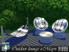 """Outdoor lounge """"May""""; the sims 4 mây tre; the sims 4 bamboo; Hammocka the sims Hammocka sims Hammocka My Sims, Sims Cc, Maxis, Los Sims 4 Mods, Muebles Sims 4 Cc, Sims 4 Bedroom, Sims 4 Clutter, Sims4 Clothes, Sims 4 Cc Furniture"""