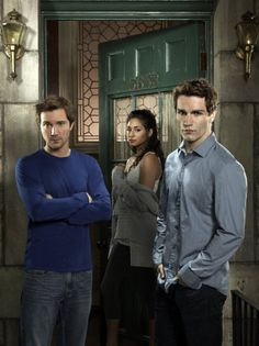 Being Human 2011 Three twenty-somethings share a house and try to live a normal life despite being a ghost, a werewolf, and a vampire.    Stars: Sam Witwer, Meaghan Rath, Sam Huntington, Kristen Hager