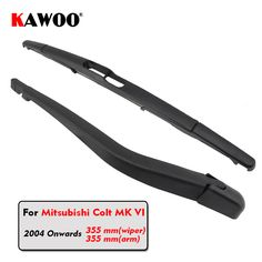 KAWOO Car Rear Wiper Blade Blades Back Window Wipers Arm For Mitsubishi Colt MK 5 Hatchback (2004-) 355mm Car Accessories. Yesterday's price: US $7.90 (6.49 EUR). Today's price: US $7.03 (5.77 EUR). Discount: 11%.