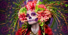 Las Muertas: Deadly Beauties Pose In Colorful Tribute To Day Of The Dead | Bored Panda