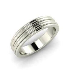 Men's - Judith - Men's Ring in 14k White Gold