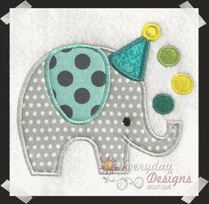 Bday Party Applique 2  www.everydaydesignsboutique.com