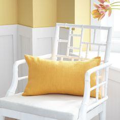 European Flax Linen Pillow Cover – Cantaloupe Kidney