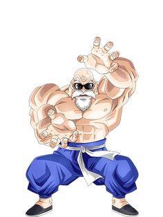 Master Roshi Full Power render 3 [Dokkan Battle] by on DeviantArt