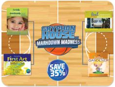 """Save 35%  off on our Final Four of March Markdown Madness! """"The Budding Gardener"""" included to start spring off right!"""