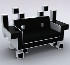Space Invaders chair!
