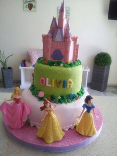 torta princesas