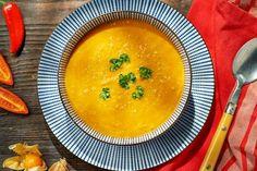 Marzą Ci się orientalne smaki? Przygotuj kokosową zupę curry z marchewką! Przepis znajdziesz na stronie Kuchni Lidla!