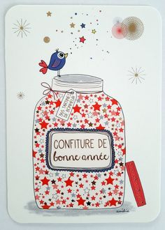 ameliebiggslaffaiteur_carte_bocal_confiture_bonne_anneeameliebiggslaffaiteur_carte_bocal_confiture_bonne_annee Cool Easy Drawing Tips in 2019 Merry Christmas ! Valentines Day Drawing, Valentines For Kids, Merry Christmas, Christmas Diy, Hygge Christmas, Christmas Decorations, Make 2017, Amelie, Cutting Activities For Kids