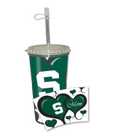 Take a look at this Michigan State Take-Out 16-Oz. Tumbler by The Fanatic Group on #zulily today!