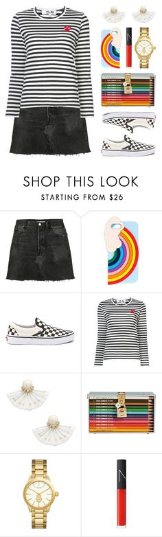 """Happy Weekend!"" by lgb321 ❤ liked on Polyvore featuring RE/DONE, Miss Selfridge, Vans, Play Comme des Garçons, Kate Spade, Dolce&Gabbana, Versace, NARS Cosmetics, polyvoreeditorial and happyweekend"