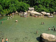 Trindade - Rio de Janeiro - Praia do Cachadaço (Trindade): Lindíssima praia, uma…