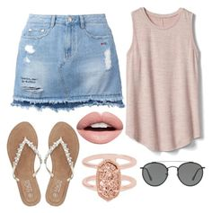 """""""10 ways to style sunglasses"""" by fashionandfriends on Polyvore featuring Steve J & Yoni P, Gap, M&Co, Kendra Scott, Nevermind and Ray-Ban"""