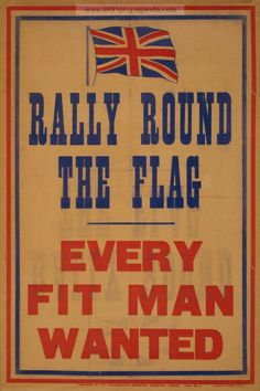 british WWI propaganda | ... Committee, 1914. World War I propaganda poster provided by LOC
