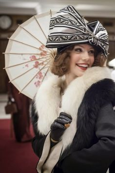 "Beautiful Girl of the TV show ""Mr. Selfridge""  (in the Episode 8-Season 2)"