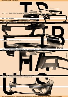 th plakat by ilg, trüb - typo/graphic posters Graphic Design Studios, Graphic Design Posters, Graphic Design Illustration, Graphic Art, Poster Designs, Typography Images, Design Typography, Lettering, Type Posters