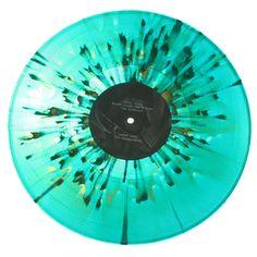 splatter color vinyl record
