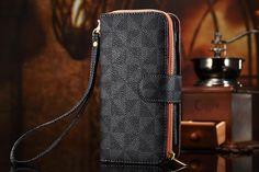 LV Phone wallet iPhone8/7S/7/6S/6/Plus Case Black