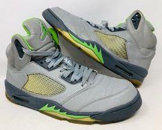 new style 5ce40 ad280 06 Nike Air Jordan V 5 Retro SILVER GREEN BEEN FLINT WOLF GREY 136027-031  Sz 12  Nike  BasketballShoes. MagDrake2013 · Shoes · Nike Kyrie 1 ...