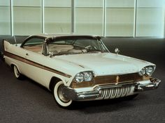 1957 Plymouth Fury-mine had a black stripe-loved that car! Rat Rods, Vintage Cars, Antique Cars, Desoto Cars, Convertible, Plymouth Cars, American Classic Cars, Dodge Chrysler, Us Cars