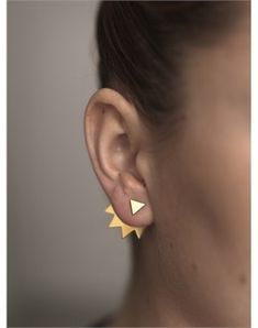 I've seen a few earrings like this and am in love with the style and desperately want more