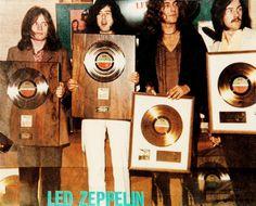 "hot-in-the-shade: """"Led Zeppelin (Savoy Hotel, Gold Platinum Awards, December 11, 1969). "" """