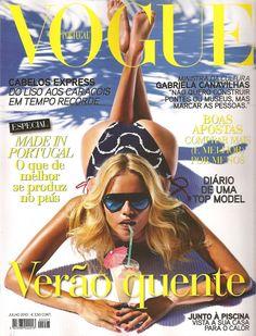 Natasha Poly by Mario Sorrenti Vogue Portugal July 2010