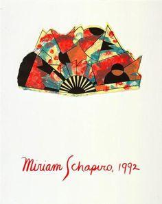 Untitled (portfolio cover)  - Miriam Schapiro Portfolio Covers, Art Database, Pattern And Decoration, Cubism, American Art, Art Museum, Design Art, Creative, Artwork