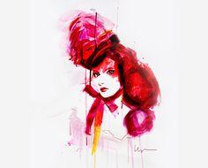 La ilustración fashion de Floyd Grey [: