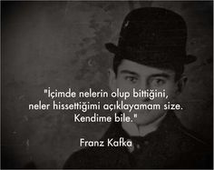 milena'ya mektuplar on Kafka Quotes, Beautiful Mind Quotes, Best Quotes, Life Quotes, Philosophical Quotes, Thing 1, Breath In Breath Out, Mindfulness Quotes, Meaningful Words