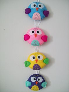Hanging Owls by LookHappyShop, via Flickr