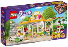 Lego Friends, Friends Cafe, Creative Birthday Gifts, Creative Gifts, Birthday Presents, Marcel, Disney Frozen, Lego Food, Drink