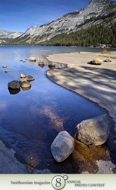 "Photo of the Day - January 09, 2012: ""Tenaya Lake Shoreline."" Taken by Rob Laskin (Santa Barbara, CA).  Photographed October 2009, Yosemite, CA."