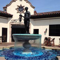 Fountain on 'The Plaza' in Kansas City, MO.