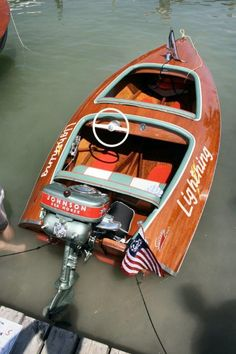 Struck By Lightning! A Classic Boat Love Story. | Classic Boat News / Woody Boater
