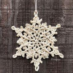 Draiguna: Winterlore Snowflake Crochet Quilt Pattern, Crochet Snowflake Pattern, Crochet Stars, Crochet Snowflakes, Doily Patterns, Thread Crochet, Crochet Motif, Crochet Flowers, Crochet Angels