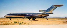 The stripped carcass of an ex-American Airlines 727-200. American retired the last of its Boeing 727s in April 2002. These 727s have been at Mojave bereft of major components, for over 6 years.