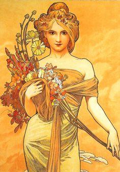 167 Mucha - art nouveau