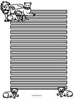 Löwenbriefpapier