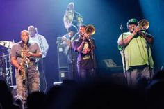 The Soul Rebels headlining the New Music Seminar Opening Night Party at Webster Hall (@Webster Hall)   New York City.#NMS2013