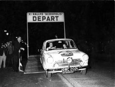 Rally Acropolis 1964. Greece doesn't only Ancient History..!