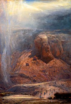 Image of Gordon Brown Abstract Landscape, Landscape Paintings, Landscapes, Charles Warren, James Richards, Gordon Brown, Fine Art, Gallery, Artists