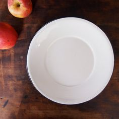 FREE Shipping_ Set of 10 Large Enamelware Dinner Plates by TheFickleFern