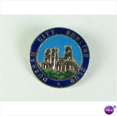 Durham City Bowling Club Enamel Badge - For Sale with Rhodons Antiques and Collectables on eBid United Kingdom