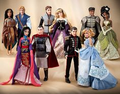 Disney Fairytale Designer Doll Collection Limited Edition Complete Set w Bags | eBay