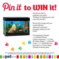 Would you like to WIN this awesome prize for your fishy family? Re-pin it now!