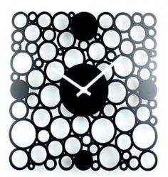 68 best cool clocks images cool clocks cool watches digital Alarm Clock Photograph this square shaped wall clock is amazing it is made up of lots of small