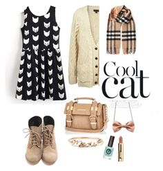 """Chill out"" by nordicstyle ❤ liked on Polyvore featuring River Island, Burberry and Freena"